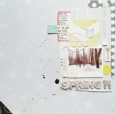 Write Click Scrapbook - Spring? layout
