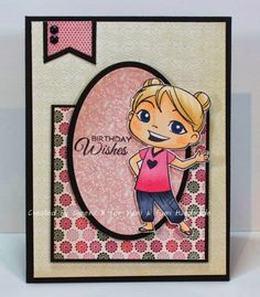Birthday Wishes from Fumi by Kanatanewf - Cards and Paper Crafts at Splitcoaststampers