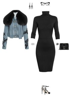 """""""Untitled #487"""" by jsmnmr ❤ liked on Polyvore featuring Undress, Dolce&Gabbana, Jonathan Simkhai, Gucci and Sole Society"""