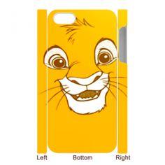 SIMBA CUTE FACE  Iphone 5 case Iphone 4 4s case