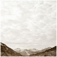 Excursus: The Mountains by Matthias Heiderich, via Behance