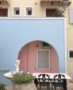 European Summer, Italian Summer, Life Is Beautiful, Beautiful Places, Italian Romance, Sweet Home, Exterior, House Design, Interior Design