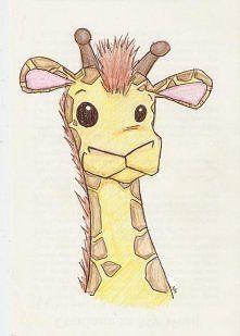 żyrafa rysunek - Szukaj w Google
