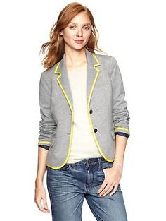 Ponte academy blazer by Gap - comes in 5 colors. Fall must have! $88 - get 25% off thru 8/18 use GAPFALL25. I think I have to have this :-)