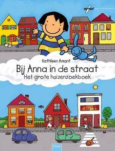 Bij Anna in de straat : het grote huizenzoekboek Cat Character, Character Design, Netherlands, Kindergarten, Preschool, Bible, Comics, Kids, School Stuff