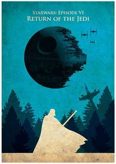 Poster vintage Star Wars Trilogy