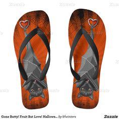Check out Zazzle's selection of great men's sandals & flip flops. Start shopping now! Flip Flop Sandals, Flip Flops, Flip Flop Art, Creepy Halloween Decorations, Fruit Bat, Shop Now, Footwear, Pairs, Shopping