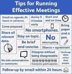 Goeie vergaderingen