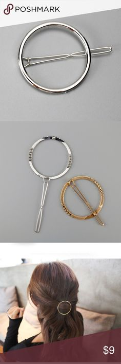 Silver circle for hair Silver circle for hair Accessories Hair Accessories