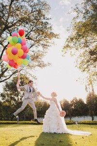 Wedding ballons photo / casamento foto com balão