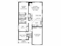 small house plans - Google Search