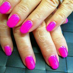 Raspberry cactus #gelicure #progel#nails
