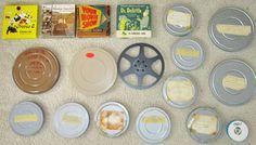 Rare lot Vintage 8 mm films Betty Boop, Shirley Temple, Batman etc...Read!