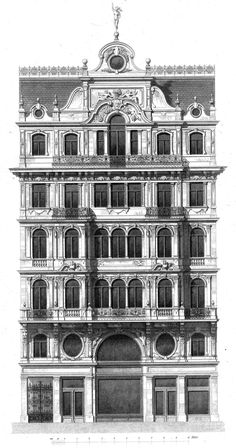 Design for a residential and commercial building, Vienna