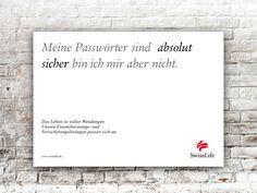 Meine Passwörter sind  ABSOLUT SICHER bin ich mir aber nicht. #wendesatz