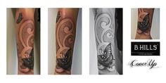 #Coveruptattoo #armtattoo #butterflytattoo #ink #inkart #Tattoo #colortattoo #BhillsTattooCompany #Larabhills #Tattooartist #ladyoktopustattooartist
