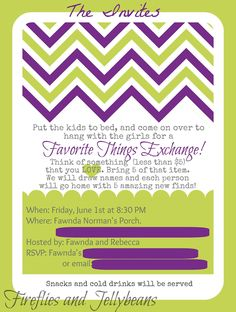 favorite things party | Fireflies and Jellybeans: Favorite Things Party