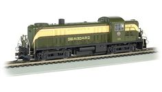 Bachmann HO Standard Line Alco RS-3 Diesel Locomotive, with Sound, Seaboard No. 1633