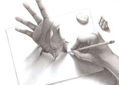 Hand in the paper by Zanariya.deviantart.com on @deviantART