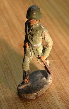 Konvolut Elastolin Figuren Massefiguren Wehrmacht Soldaten | eBay