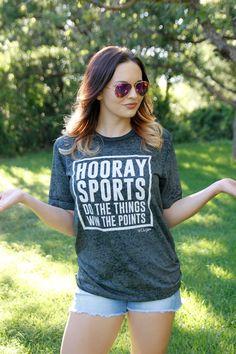 HOORAY SPORTS TEE