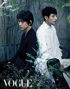 Sung Joon & Lee Soo Hyuk in the June 2013 issue of Vogue Korea ... are boys allowed to be that pretty? omo