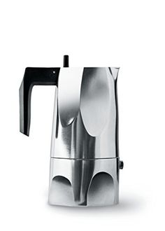 Alessi MT183 Ossidiana Stove Top Espresso 3 Cup Coffee Maker in Aluminium Casting Handle And Knob in Thermoplastic Resin Black * You can find more details by visiting the image link.Note:It is affiliate link to Amazon.