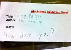 """Banned Books Week. Banning Harry Potter? """"How dare you"""""""