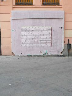 Escif, street art. #graffiti #urban art
