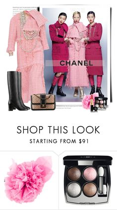 """""""Chanel Fall 2016 - Vogue"""" by sella103 ❤ liked on Polyvore featuring Chanel"""