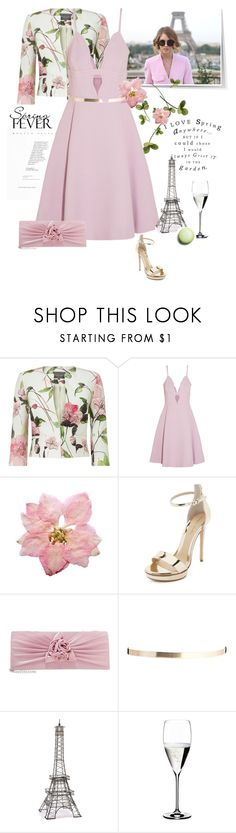 """""""I Love Spring In Paris"""" by rever-de-paris ❤ liked on Polyvore featuring Sonia Rykiel, Phase Eight, Giambattista Valli, Grace, Monique Lhuillier, ASOS, Sur La Table and Riedel"""