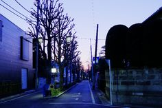 Tokyo, Tokiwadai in the morning glow. — HDR (Photmatix)