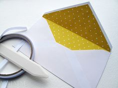 DIY envelope liner tricks by melstampz, via Flickr