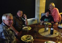April 27: Visiting the Freeman's at their home in Narribri (on route to Swan Hill)