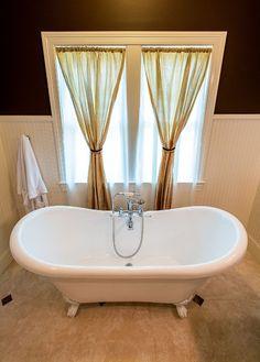 Master bathroom in custom home built by Hibbs Homes, LLC in Kirkwood, MO