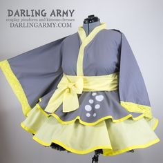 Derpy Whooves MLP My Little Pony Cosplay Kimono Dress Wa Wai Lolita Inspired | Darling Army
