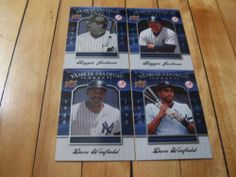 #DaveWinfield #ReggieJackson #2008 #UpperDeck #YankeeStadiumLegacy 4 #CardLot | #eBay #baseballcardauctions