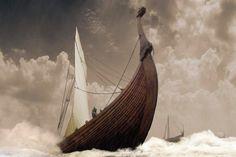 "elfentau: "" ~* Viking Ship *~ """