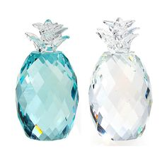 K9 Crystal Grass Green&Clear Charm Pineapple Crystal Table ...