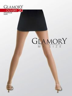 Glamory Ouvert 20 Crotchless Tights,