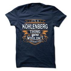 (Tshirt Top Order) KOHLENBERG Free Ship Hoodies, Funny Tee Shirts