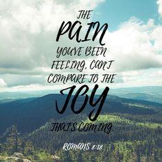 Romans 8:18. #joy #counseling