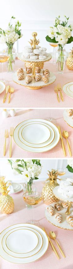 Tips for Setting the Prettiest Pink Tablescape