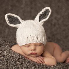 Bunny Newborn Hat