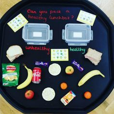 Packing a healthy lunchbox! Credit to Mrs Underwood on Facebook