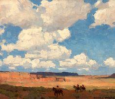 Edgar Payne (1883 - 1947) | Summer Cloud