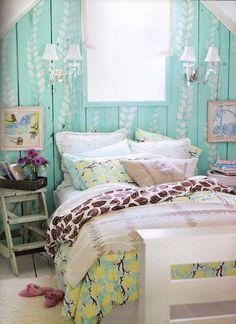 zomerse slaapkamers #inspiratie #zomer #summer #bedroom #inspiration