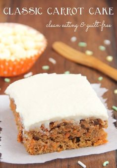 Do you have a sweet tooth but your New Years resolution is to eat healthier? Then we have the perfect cake for you!  http://amyshealthybaking.com/…/2…/04/06/classic-carrot-cake/