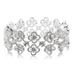 Lili Jewelry Lily-Cut diamond bracelet