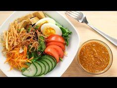 "(3) Thai Peanut Salad Dressing Recipe ""Salad Kaeg"" สลัดแขก - YouTube"